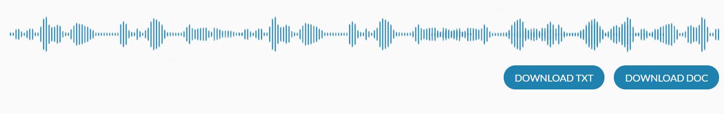 voice memo transcript