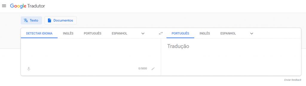 ferramentas de tradução online