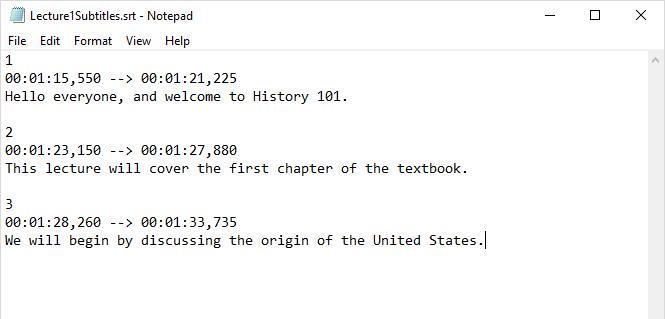 srt file example