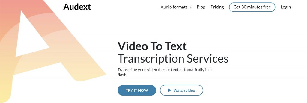 video to text